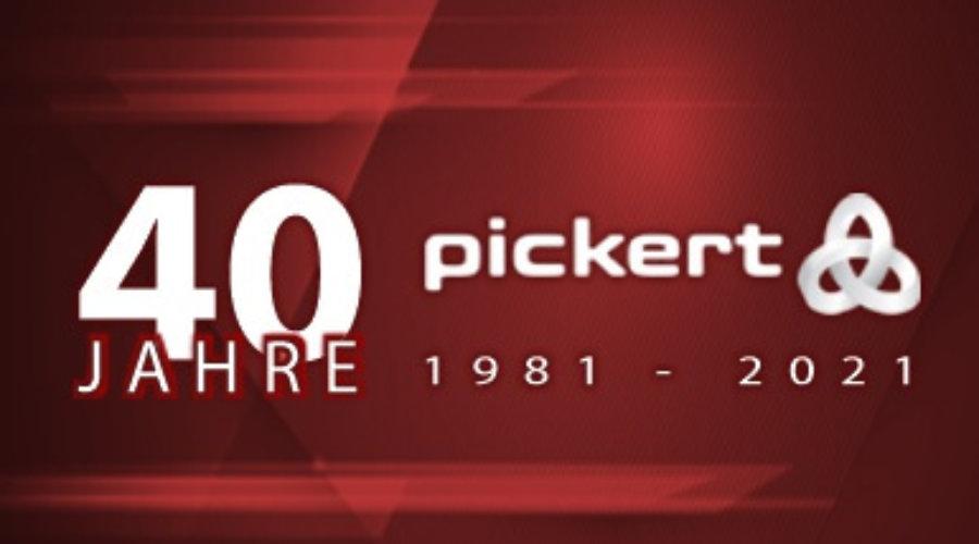 Pickert feiert 40-jähriges Firmenjubiläum